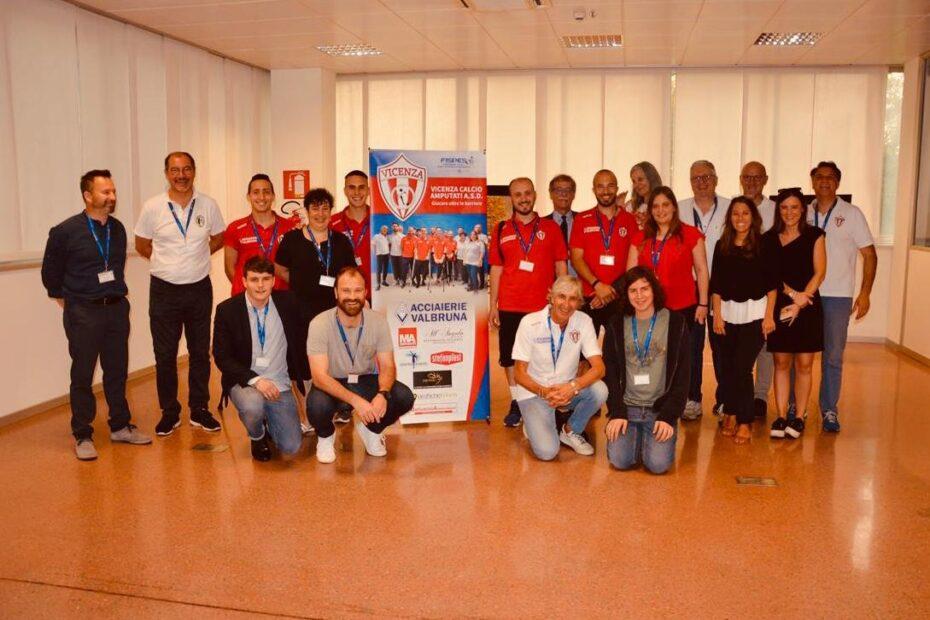 Conferenza Stampa Vicenza Calcio Amputati